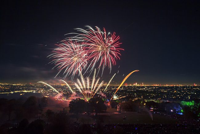 The Best Fireworks Display at Alexandra Palace