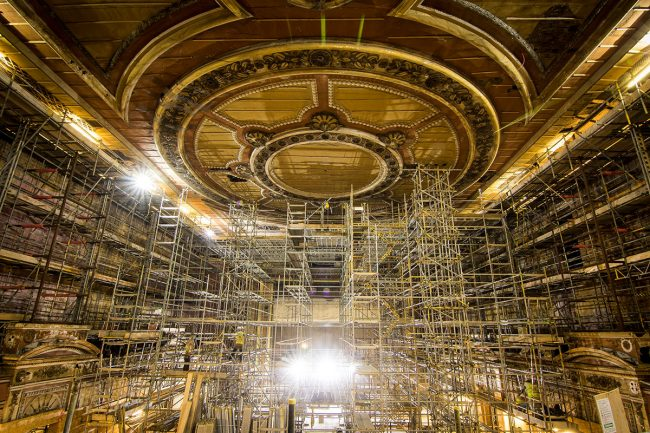Theatre Restoration Ally Pally
