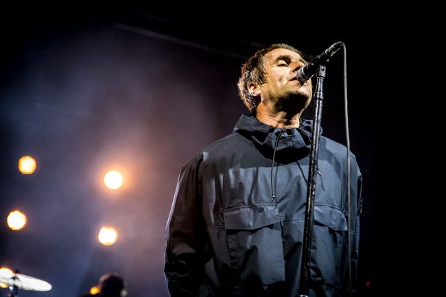 Liam Gallagher ally pally