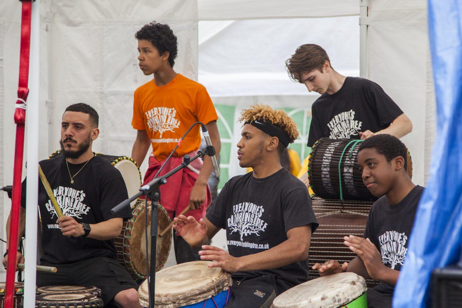 Gidde Bille drummers