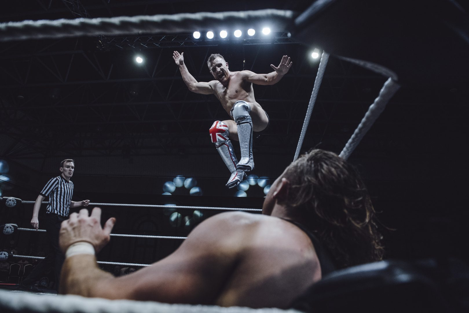 Pete Dunne and Travis-Banks Photo: The Head Drop and PROGRESS Wrestling
