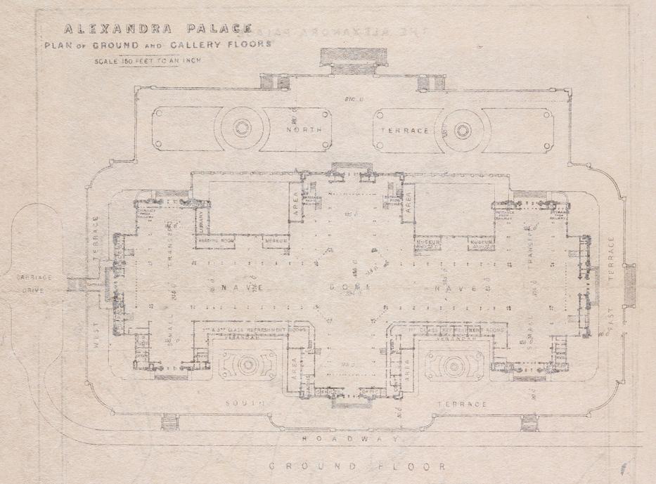 The Belly Of Ally Pally Alexandra Palace