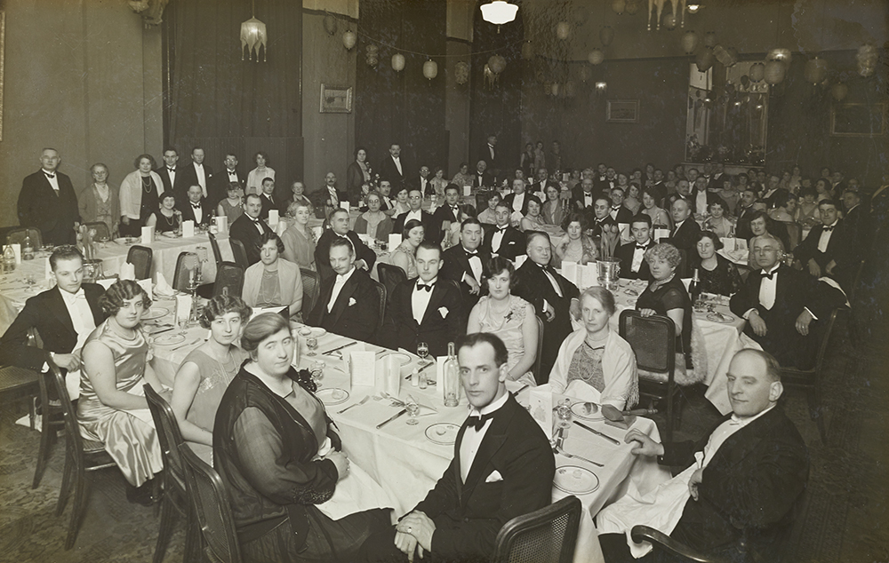 Dining at Alexandra Palace, 1920s
