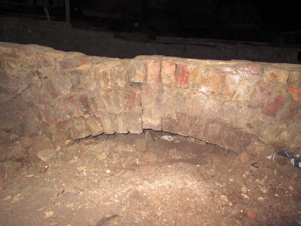 Example of poor brickwork