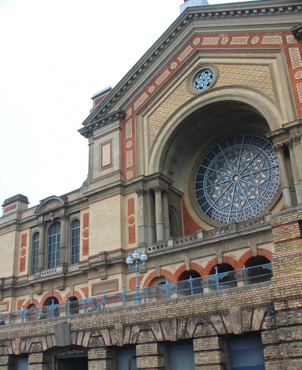 A view of Alexandra Palace South Side