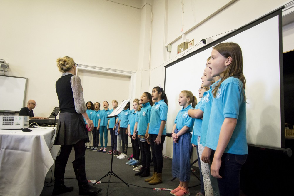 Rhodes Avenue Primary School Choir